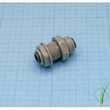 """Коннектор входной цанга-цанга 1/4"""" (~6 мм)"""